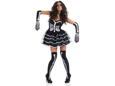 Kostium Szkieletorka strój M halloween Karnawał