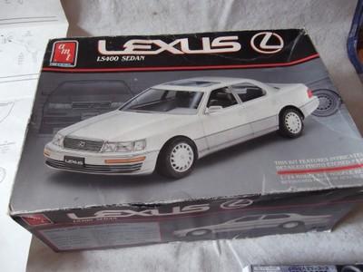 Lexus Ls 400 Do Sklejania 1 24 Bbs 6833334758 Oficjalne Archiwum Allegro
