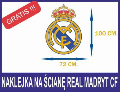 Naklejka Szablon Na Sciane Real Madryt Cf 5180481720 Oficjalne