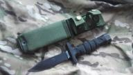 Nóż ONTARIO ASEK Survival Knife System US ARMY