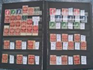 ARKUSZE  ,KEN,-,WODZOWIE + znaczki stan**