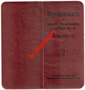 Beuthen O/S/Sparbuch 1930-1944.r.Stron 14