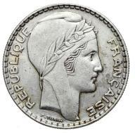 Francja - moneta - 20 Franków 1938 - 2 - SREBRO