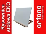 Duża rysownica 50x71 sztaluga stołowa deska+GRATIS