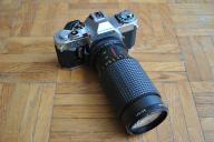 Aparat fotograficzny Canon AV-1 + Unitor 80-200