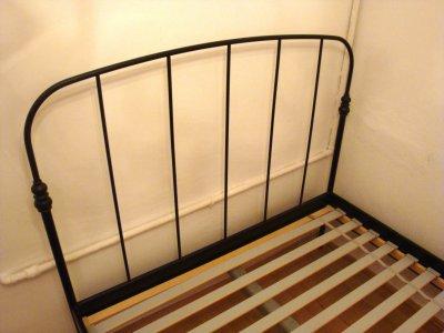 Rama Metalowa łóżko Ikea Stelaż