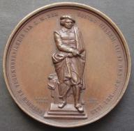 Medal Rembrandt 1852 sygnowany rzadki duży (520)