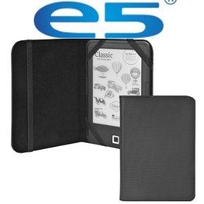 "Etui nylonowe e5 na czytnik e-book 6"" czarne"