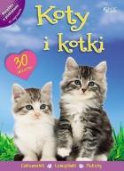 Koty i kotki. Książka z plakatami