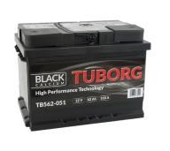 AKUMULATOR TUBORG BLACK CALCIUM 62AH 510A P+