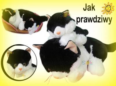 Kot Interaktywny + MAŁY KOTEK Miauczy i Mruczy
