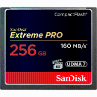 KARTA SANDISK EXTREME PRO CF 256GB 160MB/S 1067X
