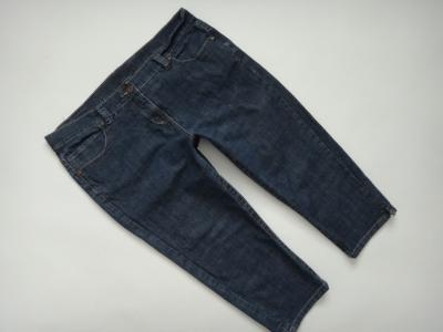 NEW LOOK_Spodnie jeansowe damskie_rybaczki_  46