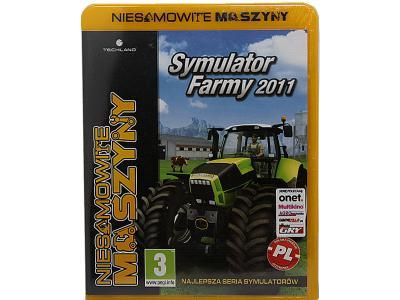 SYMULATOR FARMY 2011/FARMING SIMULATOR -GRA PC/ PL