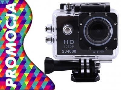 Kamera Sportowa EXPLAY SJ4000 FullHD WiFi + Kijek!