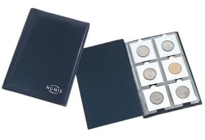 album na monety w holderach Leuchtturm NUMIS