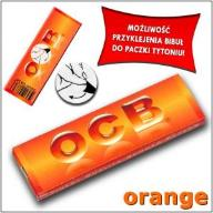 NAJLEPSZE BIBUŁKI BIBUŁY OCB ORANGE Made In France