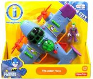 Fisher Price Imaginext Gotham Batman Joker Samolot