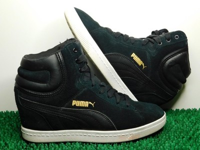 Puma Vikky Wedge Leather