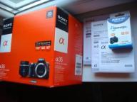 Sony SLT-A35 sklepowy zestaw stan bdb, 25 fotek