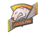 CS:GO sticker Naklejka Virtus.pro Hologram K. 2015