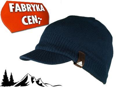 Męska czapka zimowa z daszkiem ADIDAS O05814