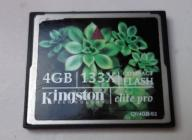 Karta oryginalna Kingstone x133  4GB