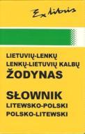 SŁOWNIK LITEWSKO - POLSKI POLSKO - LITEWSKI
