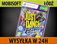 JUST DANCE DISNEY PARTY 2 XBOX 360 NOWA WYS24 ŁÓDŹ