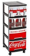 Szafka magazynowa 10 L Coca Cola Curver B1B387