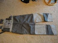 Spodnie robocze ogrodniczki XL mocne,szelki