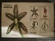 Czysty Flora Kwiaty Orchidee - Gambia