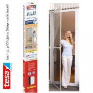 Moskitiera drzwiowa tesa z ramą aluminiową biała