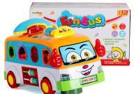 Autobus z sorterem +telefonik Wesołe autko +jeździ
