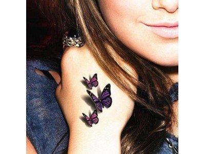 Tatuaż Motyle Modny Promocja Motylki Zmywalny Hit 6099852726