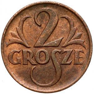 1544. 2 grosze 1925, st.~3 umyta
