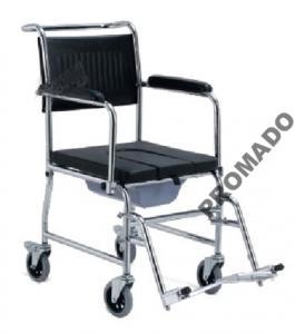 Wózek inwalidzki sedesowy toaletowy z sedesem WC
