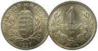 19.WĘGRY, 1 PENGO 1937