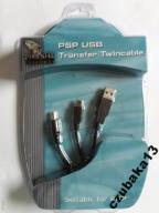 KABEL USB 2in1 ŁADOWANIE PSP i transfer z PC