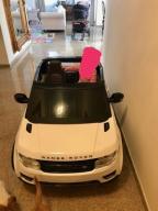 Elektryczny samochód rangę rover