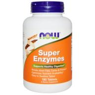 NOW FOODS SUPER ENZYMES tab.90 PROMO ! W-wa