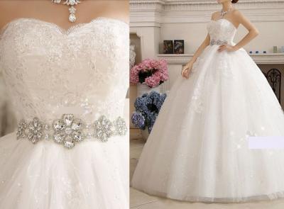 Suknia ślubna Princessa Ciążowa Diamenty M 38 Njuż 6073129047
