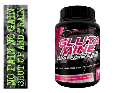 TREC GLUTAMINE HIGH SPEED 500g szybka regeneracja