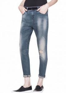 Spodnie jeansy Benetton damskie