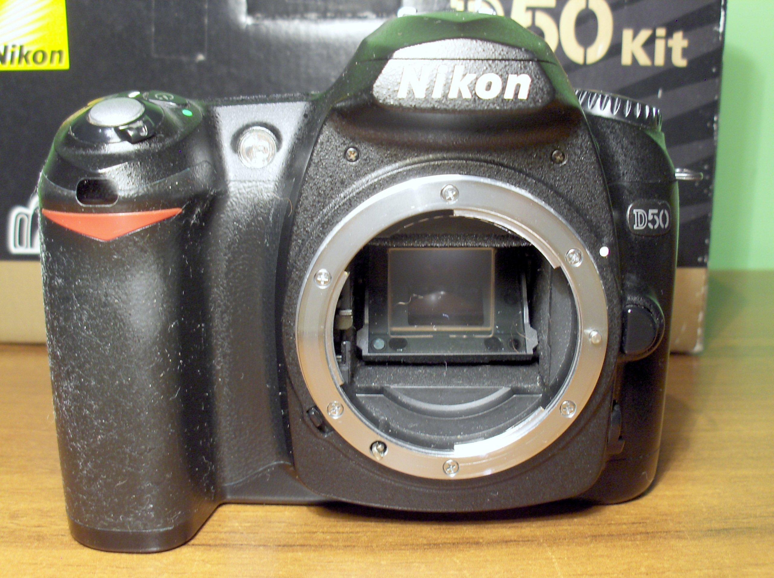 Nikon D50 uszkodzony