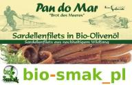 ANCHOIS SARDELE W BIO OLIWIE Z OLIWEK 50 g PAN