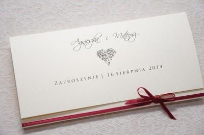 Eleganckie Zaproszenia ślubne W Oficjalnym Archiwum Allegro Strona