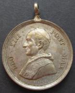 Stary Medal Papież Leon XIII 1888 (884)