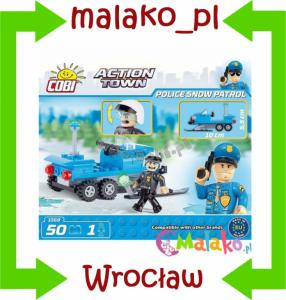 COBI ACTION TOWN POLICJA 50 EL. 6+