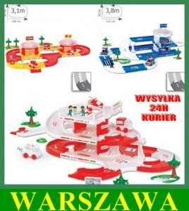 Wader Garaż 3 Zestawy Szpital Policja Straż Od 12m 3044811893